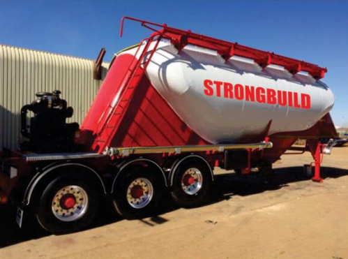 Strongbuild Cement Tanker