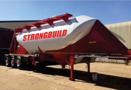 Strongbuild Cement Tanker 2
